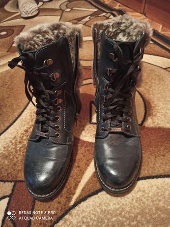 Кожаные ботинки женские размер 38 ,ко