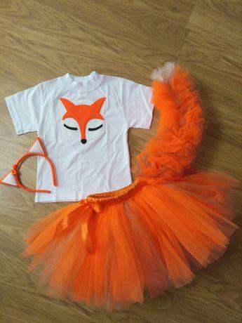 Костюм новогодний новорічний лисы лисицы лисиці лисиця лиса