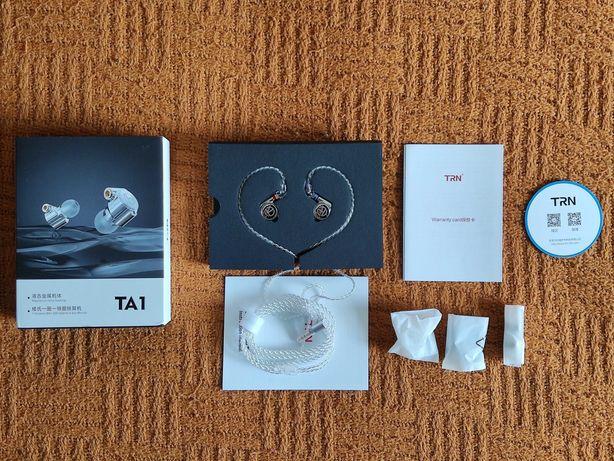 Słuchawki dokanałowe TRN TA1 (nówki)