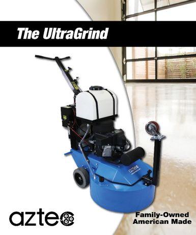 Шлифовально-полировочная машина для бетона UltraGrind (Aztec Products,
