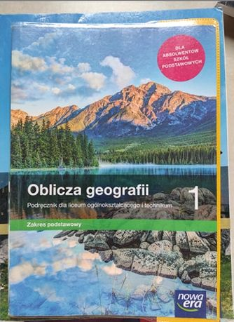 Oblicza Geografii 1 Nowa Era Zakres Podstawowy