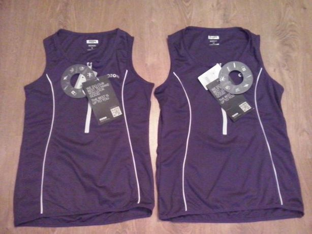 Damska koszulka sportowa treningowa Ozon S