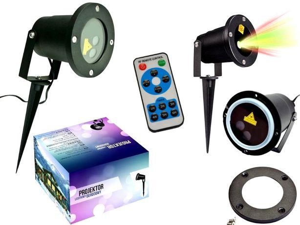 Projektor Laserowy Laser Dyskotekowy Ogrodowy 24w1 Lampki na Karnawał