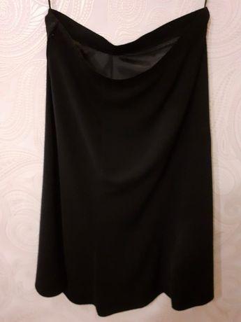 Spódnica czarna długa 50