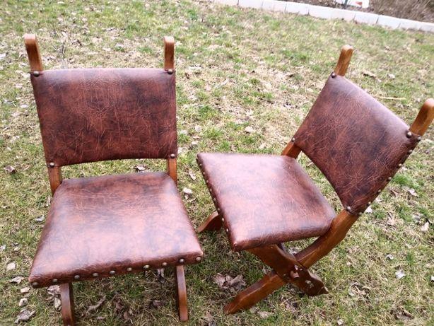 Fotele i Krzesła dębowe