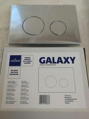 Przycisk spłukujący Cersanit Galaxy.