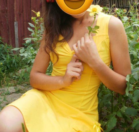 Плаття жовте для 44-46 розміру