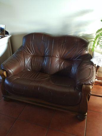 Kanapa  sofa skóra naturalna