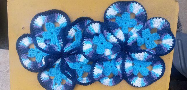 Салфетки плетені