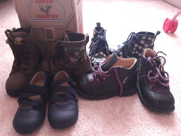Lote 6 botas menina tm.22 chicco, zara babybotte e zippy