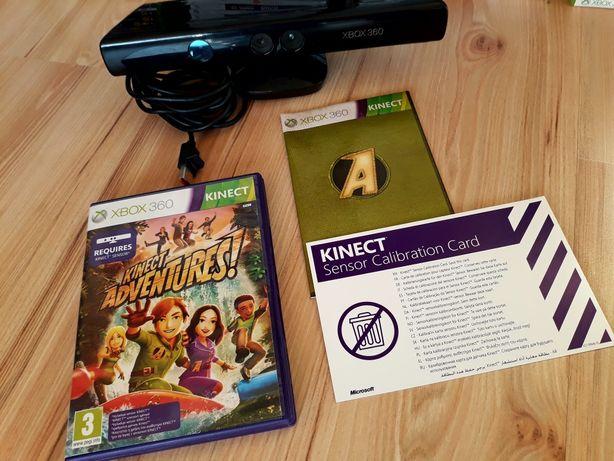 Sensor Kinect plus składanka 16 gier do Xbox 360 GWARANCJA