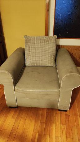 Fotel tapicerowany do prania
