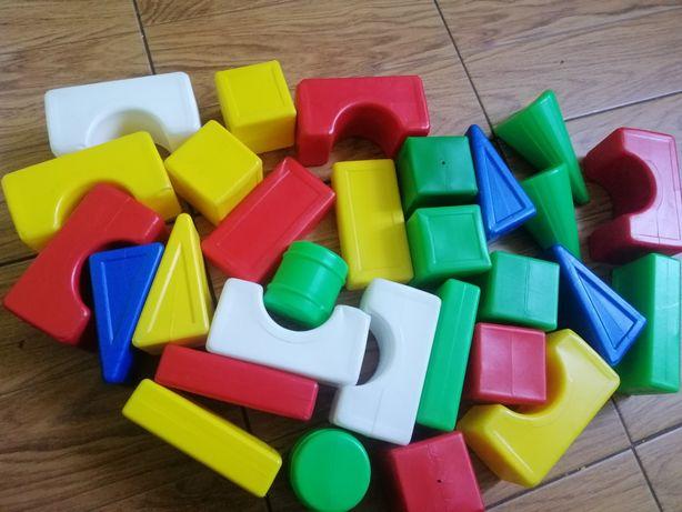 Кубики пластик большие