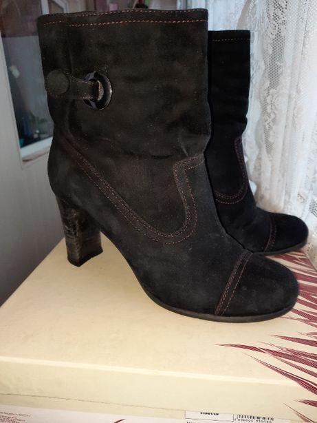 Ботинки зимние замш+цегейка р.39