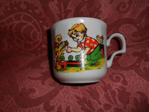 Чашка детская СССР Сам себе мастер