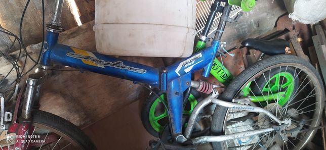 Продам велосипед на запчасти или под востановление