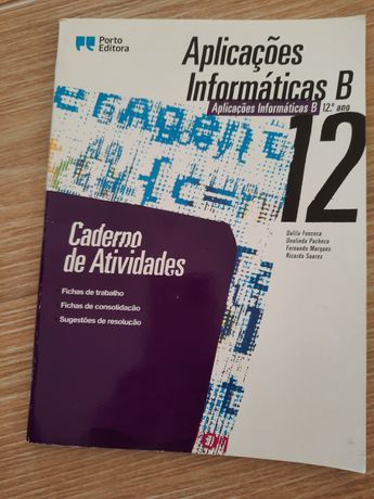Manual Aplicações Informáticas B 12° ano