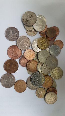 Монеты России 1992-2018года , 49 штук