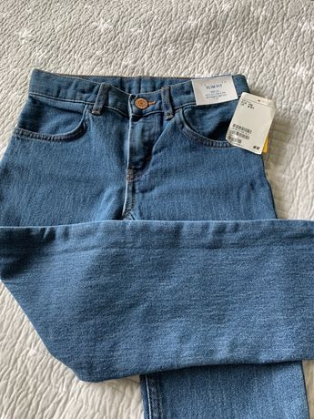 Spodnie jeansy chlopiece 110 4-5 l