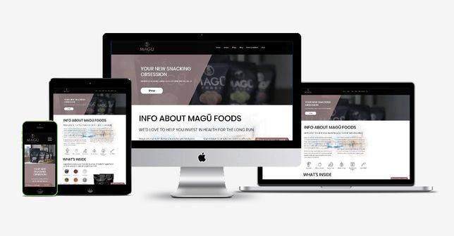 Создание сайта, интернет- магазин. Исправление ошибок.