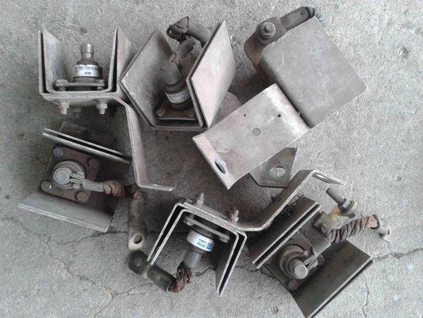 DIODY PROSTOWNICZE 200A 400V z Radiatorami - 6SZT