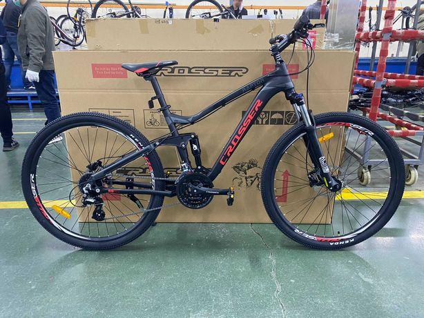 Горный велосипед двухподвес Crosser Raptor 29 Shimano Altus Giant Trek