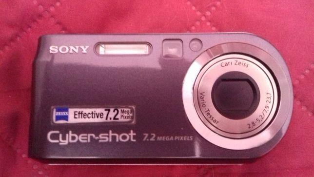 Sony Cyber-Shot 7.2 - avariada