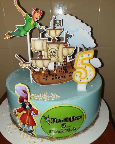 Ozdoba na tort Piotruś Pan