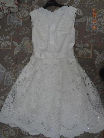 Платье свадебное (вечернее) ручной работы