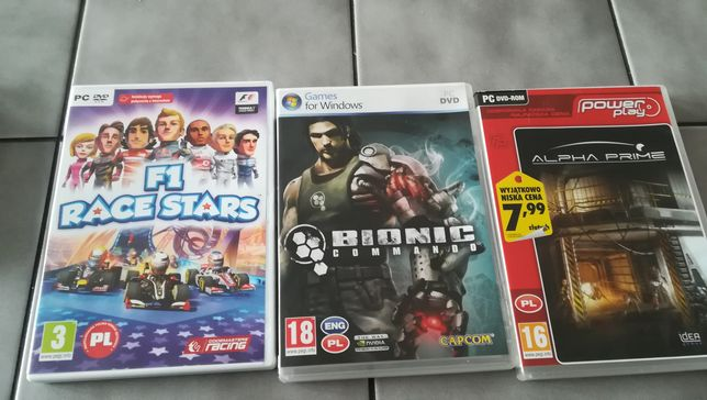 Sprzedam 3 gry na PC