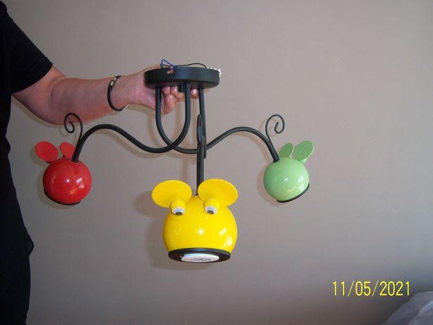żyrandol z myszkami