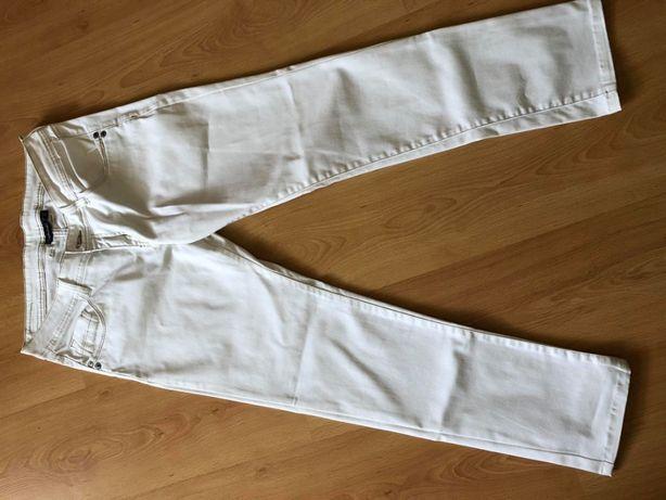 Spodnie damskie ecru