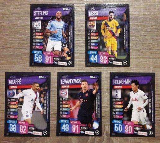 Topps Match Attax Champions League 2019/2020 On Demand Update Pack 5