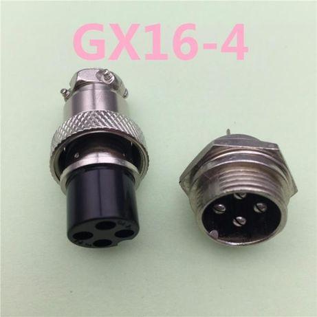 Разъем 4pin 5A 125V 16mm для ЧПУ(CNC)