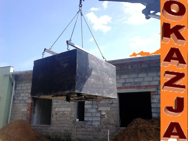 SZAMBO betonowe szamba EKO szczelne 100% Zbiornik na wodę 6m3