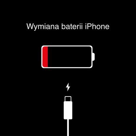 Wymiana baterii iPhone 5s SE 6 6s 7 8 X Xr Xs Max 11 pro