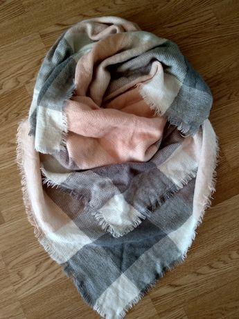 Палантин, шарф, ангора шерсть