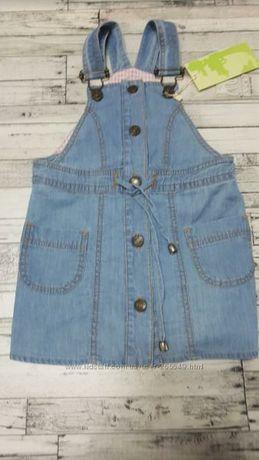 Платье джинсовое  сарафан джинсовый