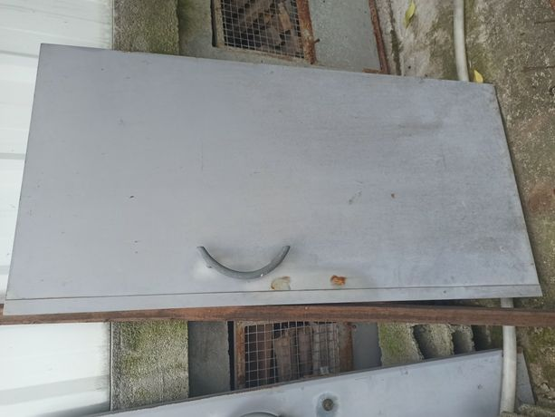 Portão duplo Ferro banhado