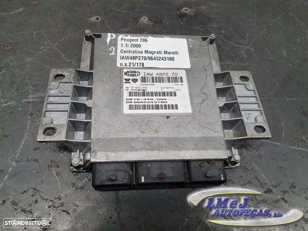 Centralina do Motor Usado PEUGEOT/206 Hatchback (2A/C)/1.1   08.98 - 07.00 REF....