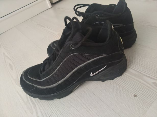 Nike Air Max czarne 38,5. 24,5 jak NOWE