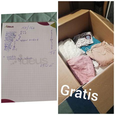 Zestaw ubrań dla dziewczynki 158-164