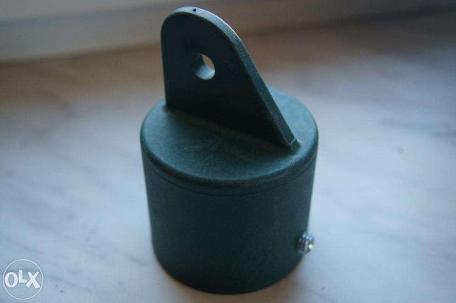 Nasadka podporowa fi42 zielona, kapturek, zaślepka