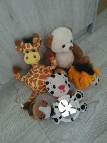 Pluszaki, zabawki