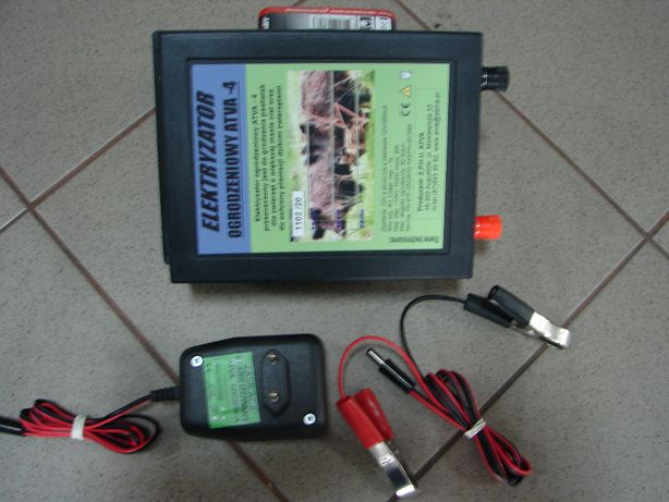 Elektryzator pastuch 6 dżuli na dzika