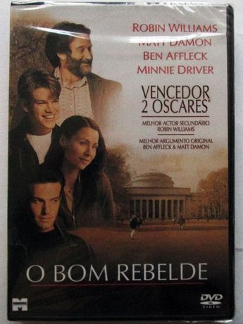 DVD - O Bom Rebelde, com Robin Williams, Matt Damon, Ben Affleck