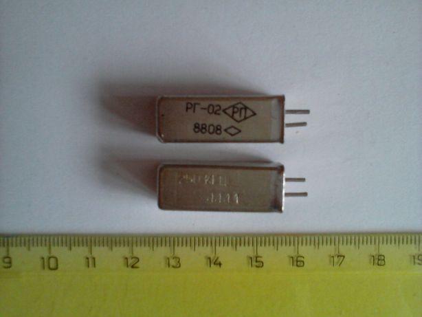 Кварцевый резонатор РГ-02 250 кГц