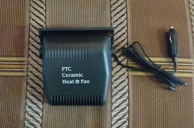 Автомобільний тепловентилятор / Обігрівач салону авто 12V.