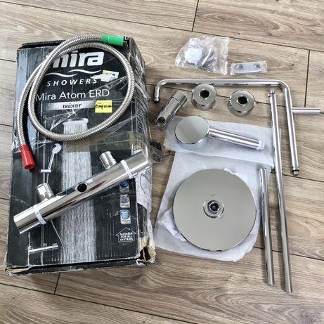 Bateria termostatyczna z deszczownicą Mira Atom ERD uszkodzona