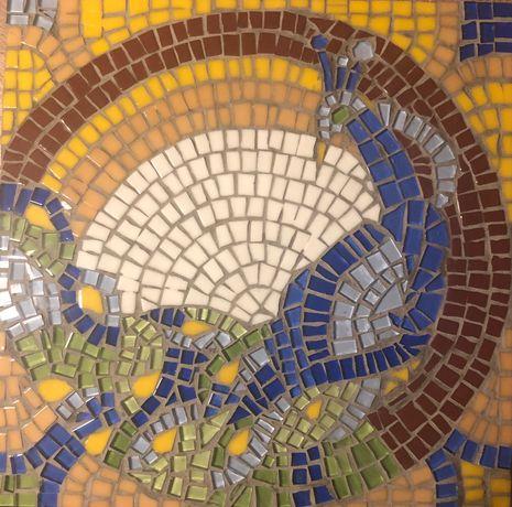 Paw mozaika 30x30 . Rekodzielo  na zamowienie.